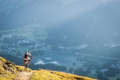 Tobi Woggon Schleybeling over Lenzerheide. Tobi is one of my favourite riders to work with he will always go that little bit further to try and get that one shot and I think a lot of people could learn a lot from the way he s built himself a career doing that.