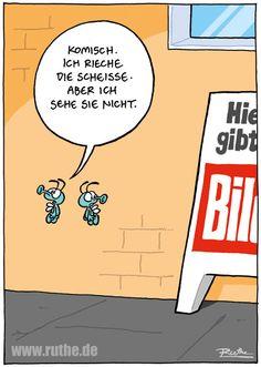 Cartoon von Ruthe