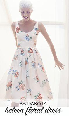 BB Dakota Heleen Dress via @mystylevita