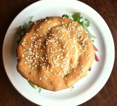 low carb Hamburger Buns - paleo - easy recipe - gluten free - keto bread - tahini bun