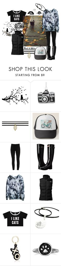 """The Cat's Meow"" by kaleidoscopekidco ❤ liked on Polyvore featuring Lord & Taylor, Elie Tahari, Hunter, The North Face, Barneys New York and BillyTheTree"