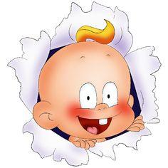 Baby Boy - Funny Baby Clip Art