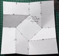 ANNETTE IN OZ: Steampunk card - look at her finished card!  This is neat when it's done, but tricky to fold.