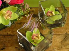 #Green #orchid #Centrepieces