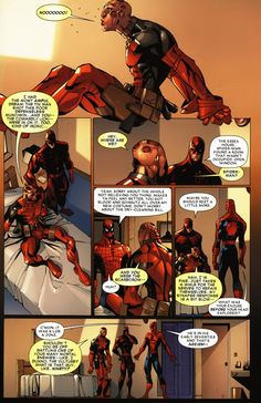 Deadpool, Spiderman, and Daredevil. PLEASE TELL ME WHICH COMIC THIS IS AND MAYBE EVEN WHERE I CAN FIND IT ON YOUTUBE!!!!! D: