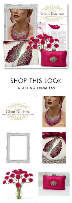"""""""Glam Duchess 6"""" by fashionmonsters ❤ liked on Polyvore featuring Paperchase and Nearly Natural"""