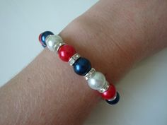 The Crown Jewels Bracelet by traceysjewellery on Etsy, £6.99