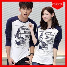 Fashion Couple Raglan Thewhite House Terbaru