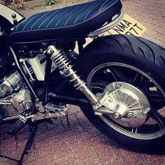 My World — My #yamaha XS1100 #cafe-racer #bikersofinstagram...