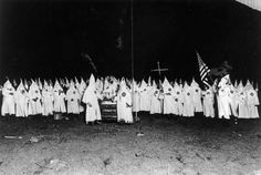 The KKK (Ku Klux Klan) was founded in 1866 and soon spread throughout the South. Their goal was to bring back white-supremacy and often turned to violence in order to scare and punish black and white protesters.