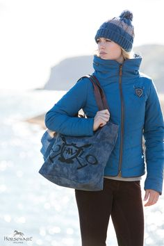 Horseware Polo Collection A/W16: Knitted Hat   NEW Maya Ladies Padded Jacket   NEW Nina Ladies Breeches   Shoulder Tote
