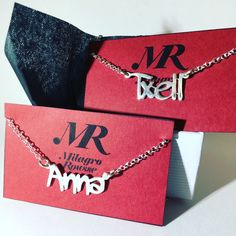 Handmade names for your accesories. You can select the letter style you like the most!!!