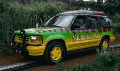 The not so safe, self driving 4x4 in Jurassic Park