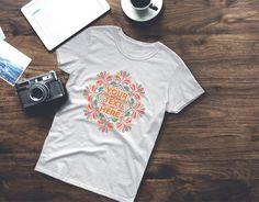 Women's Personalised mandala short sleeve t-shirt. Your text here, ladies mandala shirt. A heavy cotton, classic fit ladies scoop neck t-shirt. Cap Sleeves, Short Sleeves, Custom T, Neck T Shirt, Mandala, Lady, Cotton, Shirts, Shopping
