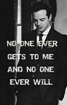 No one ever gets to me and no one ever will. (Image behind the words taken from scomidmo.tumblr)