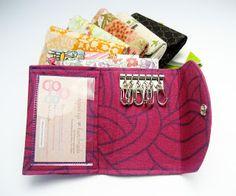 All wrapped up: Key Organiser Wallet + Rivet Setting Tutorial