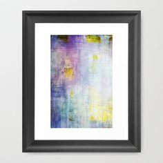 color grunge Framed Art Print by Iris Lehnhardt - $37.00
