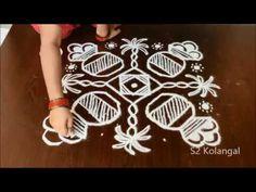 there are many types of rangoli like dot rangoli, freehand rangoli, sikku kolam or melikala muggulu. Rangoli Designs With Dots, Rangoli With Dots, Simple Rangoli, Muggulu Design, Blouse Designs, Animal Print Rug, Drawings, House, Inspiration