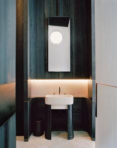 Design firm Liaigre realizes a dreamy domestic setup in the city's leafy Neuilly-sur-Seine enclave Paris Suburbs, Christian Liaigre, Paris Home, Interior Garden, Interior Design, Building A New Home, Architectural Digest, Bathroom Flooring, Design Firms