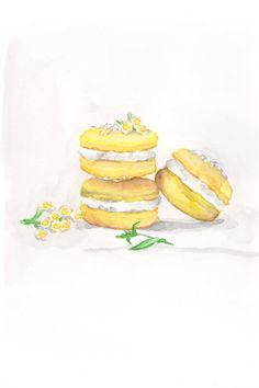 ✿Cake  Chocolate✿ Macarons
