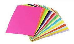 Pack Of 25 Sheets Coloured Paper Multi Use Printing 80 Gsm Size Color Copies, A4 Size, Colored Paper, Cardmaking, Decoupage, Colours, Projects, Prints, Diy
