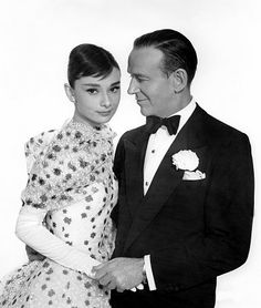 """""""Funny Face"""" Audrey Hepburn, Fred Astaire 1956 Paramount **I. Audrey Hepburn Funny Face, Audrey Hepburn Movies, Audrey Hepburn Photos, Audrey Hepburn Style, Gene Kelly, Fred Astaire, I Look To You, British Actresses, Funny Faces"""