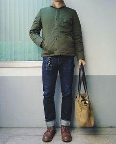 @jaesungxlee rocking our N1 Deck Jacket