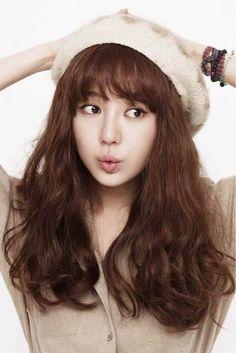 Yoon Eun-hye (윤은혜) - Picture @ HanCinema :: The Korean Movie and Drama Database Korean Bangs Hairstyle, Hairstyles With Bangs, Girl Hairstyles, Yoon Eun Hye, Korean Actresses, Korean Actors, Actors & Actresses, Korean Girl, Asian Girl
