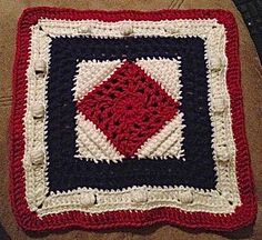 Ravelry: Home of the Brave Afghan Square pattern by Shelley Moore ~ free pattern