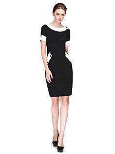L'ALYSSE Women's Vintage Button Bodycon Pencil Party Dresses(Black,S) L'alysse http://www.amazon.com/dp/B015R6M05O/ref=cm_sw_r_pi_dp_PBYIwb156F9SS