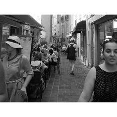 #Rocher People in Monaco, 27 July 2015 #Monaco #France #monacovillage #trip #travel #alleyway #people #Summer #blackandwhite #Europe #photograph #byJanae #iPhone by november_j from #Montecarlo #Monaco