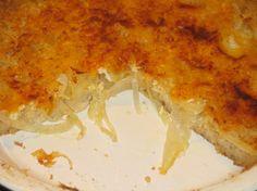 Vidalia Onion Pie (Soooo good, but I use generic version of the crackers. Nabisco is a no-no... ~Nikki)