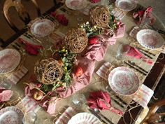 Nancy's Daily Dish: Easing Into Fall 2011 Tablescape