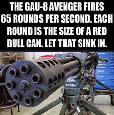 38 Of Today's Freshest Pics And Memes If I had a base or fortress of some sort during an apocolypse, this is what I would have for the gun towers Airsoft Guns, Weapons Guns, Guns And Ammo, Military Memes, Military Weapons, Big Guns, Cool Guns, Gun Humor, Gun Meme