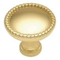 Belwith Keeler 1 1/4 inches Cabinet Knob Polished Brass