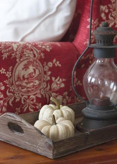 Small changes make big differences when decorating for Fall.