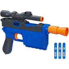 Free 2-day shipping on qualified orders over $35. Buy Star Wars Episode VII Nerf Han Solo Blaster at Walmart.com