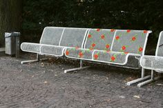 Rose Bench Street Embroidery, Berlin by Miss Crosstitch
