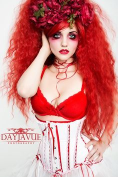 Photo: DayJa Vue Photography MUA: @Courtney Baker Baker Zepeda-Hawkes Hair: Gothic Lolita Wigs Model:  Gnoissienne