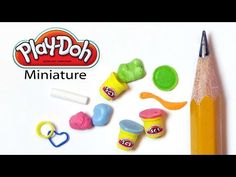 Tiny Play-Doh Inspired Polymer Clay Tutorial - YouTube