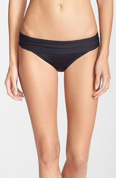 Free shipping and returns on La Blanca 'Renew & Refresh' Hipster Bikini Bottoms at Nordstrom.com. A shirred waistband tops otherwise simply styled bikini bottoms with full rear coverage and a center back seam for a shapely fit.