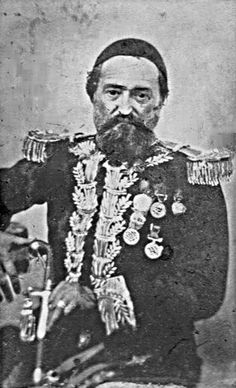 Iskender Pasha (Antoni Aleksander Ilinski) as Brigadier General in the Ottoman Army.