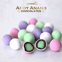 Andy Anand Holland Mints in Dark Belgian Chocolate & natural Peppermint oil Gift Boxed,Greeting Card Delicious-Yummy-Divine Birthday Valentine Anniversary Christmas Holiday Mothers Fathers Day Wedding Chocolate Mix, Belgian Chocolate, Chocolate Coating, Chocolate Gifts, Cookie Gift Baskets, Cookie Gifts, Food Gifts, Mint Creams, Types Of Snacks