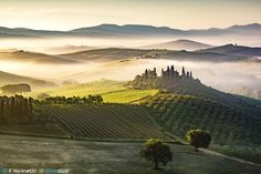 Podere Belvedere - Val D'Orcia by Francesco Vaninetti on 500px