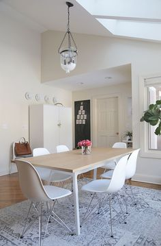 dining table update #lalalovely with @hayneedle.com