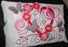 Romantic Heart - With 3d Blossoms & Butterflies