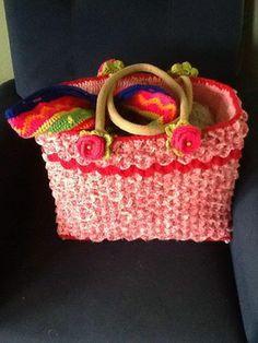 Gemaakt door Rika Tammeleng Vd Veen Crochet Tote, Bag Making, Crocs, Straw Bag, How To Make, Gifts, Diy, Bags, Google