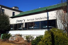 Jimmy's Serious Sandwiches has been in business in the same location for 28 years. You can find them at 5116 West Markham Street in Little Rock.