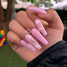 Edgy Nails, Glam Nails, Hot Nails, Blue Acrylic Nails, Summer Acrylic Nails, Arylic Nails, Nails Only, Fire Nails, Luxury Nails