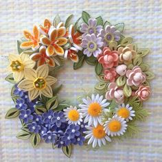 Quilling Flower Designs, Quilling Flowers Tutorial, Paper Quilling Flowers, Quilling Patterns, Arte Quilling, Quilling Work, Felt Crafts, Paper Crafts, Quilling Animals